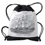 tall shipsCALENDAR copy Drawstring Bag