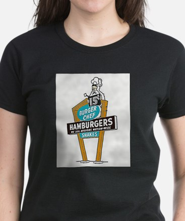 Vintage Burger Chef Sign T-Shirt