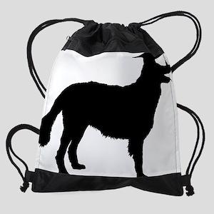 Leonberger3 Drawstring Bag