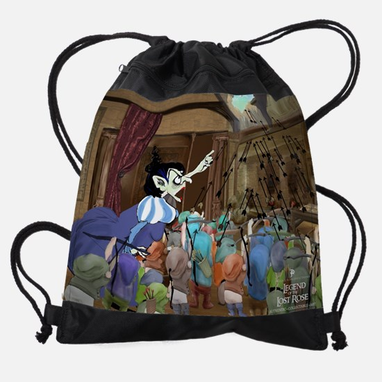 The Legend of the Lost Rose Chapter Drawstring Bag