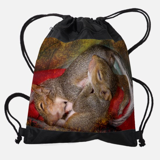 Sleeping Babes copy.png Drawstring Bag