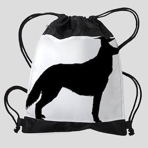 Siberian Husky3 Drawstring Bag