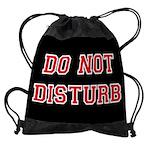 Do Not Disturb Drawstring Bag