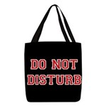 Do Not Disturb Polyester Tote Bag