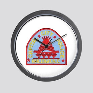 Raleigh Police Wall Clock