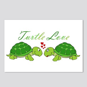 Turtle Love Postcards (Package of 8)