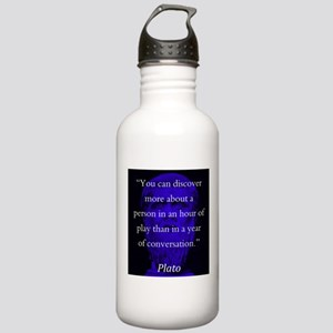 You Can Discover More - Plato Water Bottle
