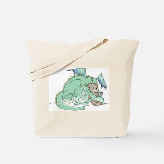 Baby Dragon Tote Bag