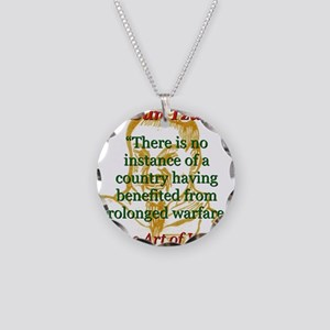 There Is No Instance - Sun Tzu Necklace