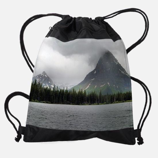IMG_4058_two_medicine_lake_calendar Drawstring Bag