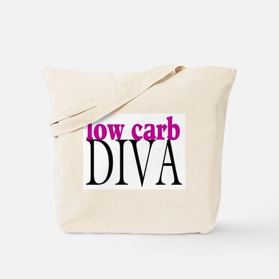 Low Carb Diva Tote Bag