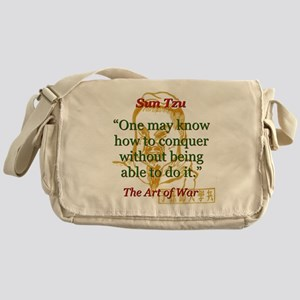 One May Know How To Conquer - Sun Tzu Messenger Ba