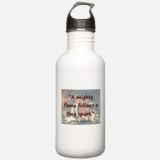 A Mighty Flame Follows - Dante Water Bottle