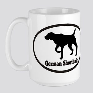 German Shorthaired Pointer Large Mug