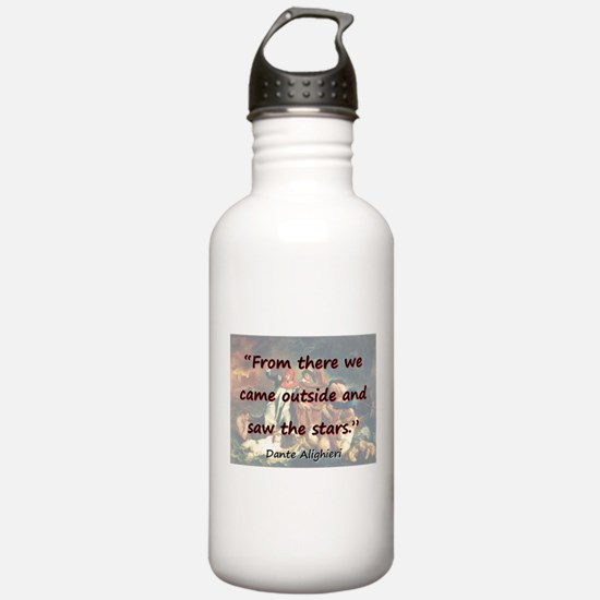 From There We Came Outside - Dante Water Bottle