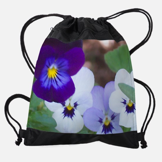Pansy.jpg Drawstring Bag