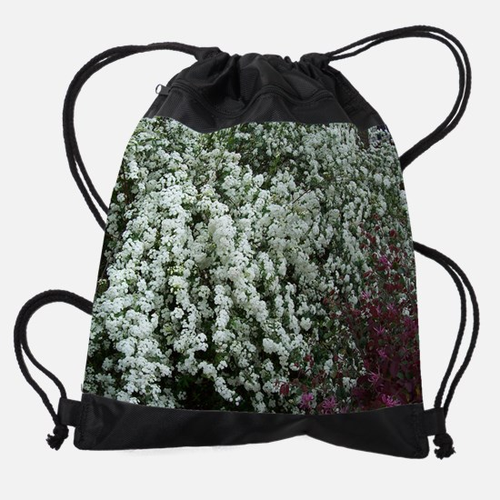 Spirea.jpg Drawstring Bag