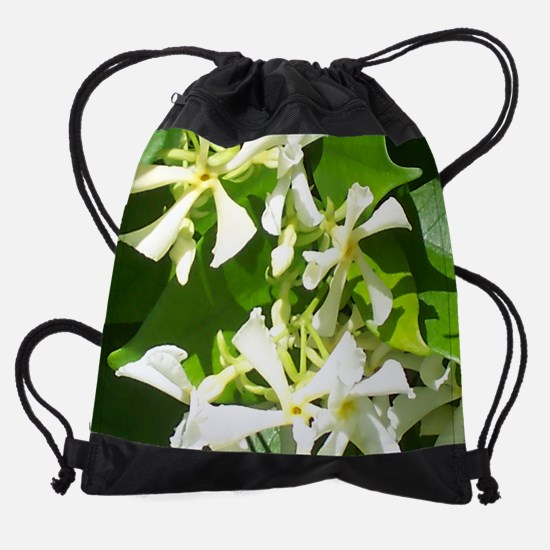 Star-Jasmine.jpg Drawstring Bag