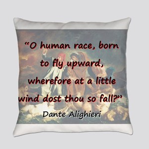 O Human Race - Dante Everyday Pillow