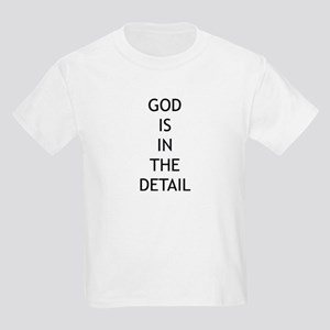 God is in the detail Kids T-Shirt