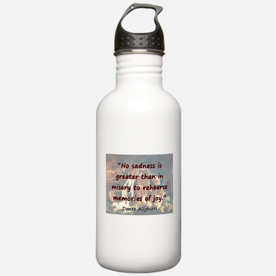 No Sadness Is Greater - Dante Water Bottle