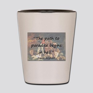 The Path To Paradise - Dante Shot Glass