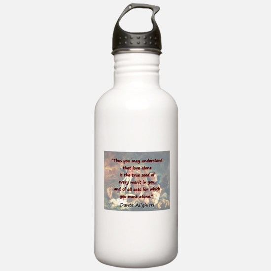 Thus You May Understand - Dante Water Bottle