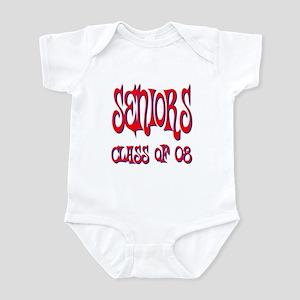 2008: Hippie Days (red) Infant Bodysuit