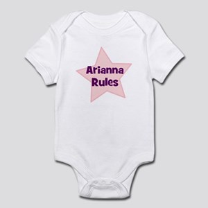 Arianna Rules Infant Bodysuit