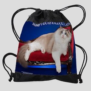 Ragdoll Cat Calendar Drawstring Bag