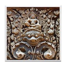 Angkor Wat Tile Coaster - 3