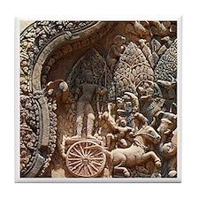 Angkor Wat Tile Coaster - 4