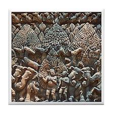 Angkor Wat Tile Coaster - 5