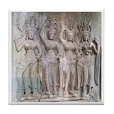 Angkor Wat Tile Coaster - 6