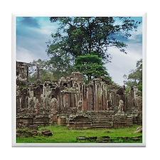 Angkor Wat Tile Coaster - B