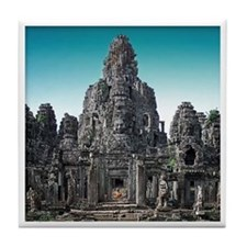 Angkor Wat Tile Coaster - F