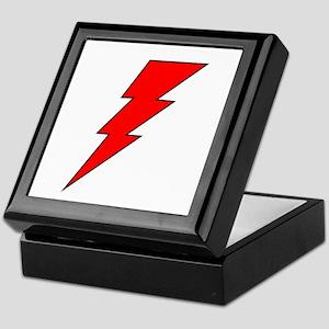 The Red Lightning Bolt Shop Keepsake Box