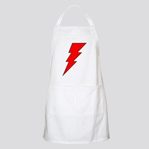 The Red Lightning Bolt Shop BBQ Apron