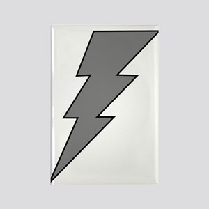 The Lightning Grey Shop Rectangle Magnet