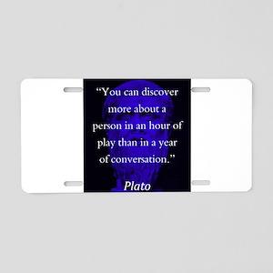 You Can Discover More - Plato Aluminum License Pla