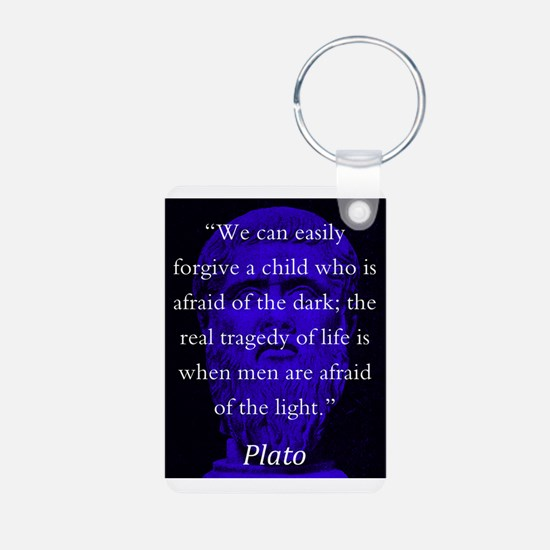 We Can Easily Forgive A Child - Plato Keychains