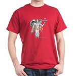 Healing Angel Black or Cardinal color T-Shirt