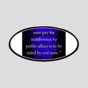The Price Good Men Pay - Plato Patch