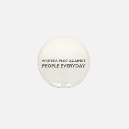 Writers Plot Mini Button for writers
