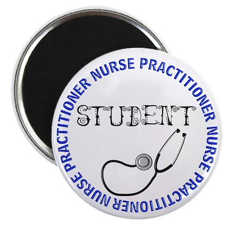 "NURSE PRACTITIONER 5 STUDENT 2.25"" Magnet (100 pac"