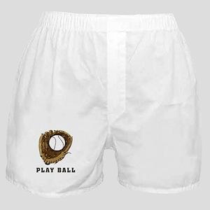 Play Baseball Boxer Shorts