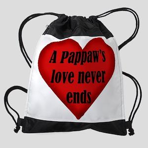 pappaws love Drawstring Bag