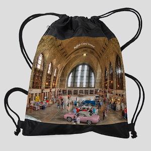 Buffalo Central Terminal Drawstring Bag
