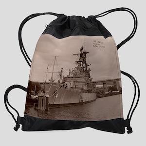 U.S.S. Little Rock Drawstring Bag