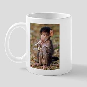 Smoking Monkey Mug